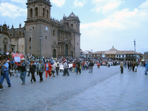 Strikes in Cusco