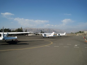 Cesna Planes at the Maria Reiche Airport