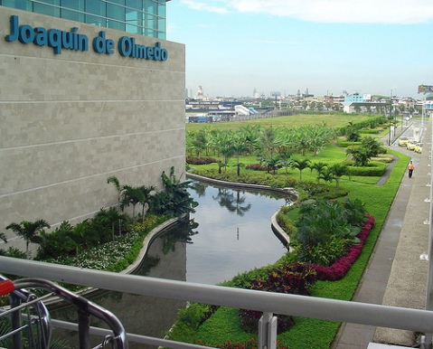 Jose Joaquin de Olmedo International Airport in Guayaquil