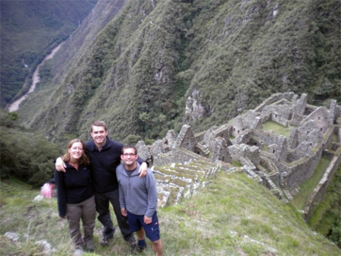Winay Wanya Ruins on the Inca Trail